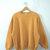 Vintage 80's mustard yellow sweatshirt, women's size women's size XL / large