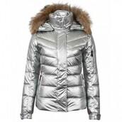 winter coat,silver,down jacket