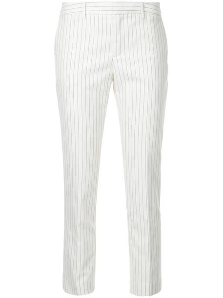 cropped women white pants