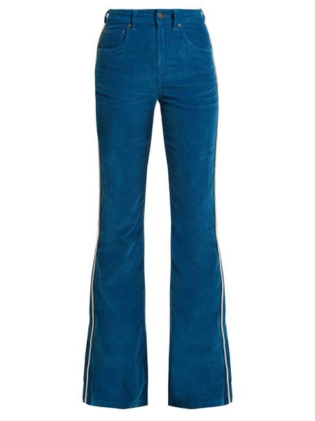 Rockins high cotton blue pants