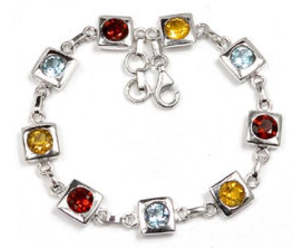 jewels sterling silver handmade jewelry gemstone bracelets charm bracelet