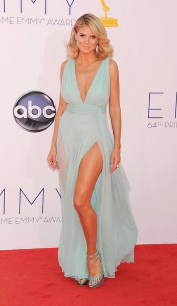 246715f97099 dress plunge v neck slit dress slit maxi dress red dress blue dress