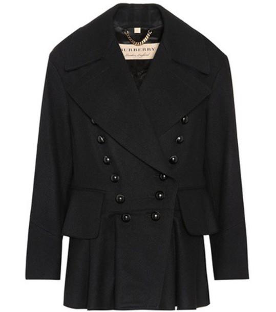 jacket wool black