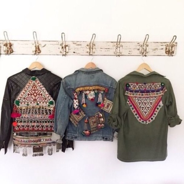 jacket vintage ethnic