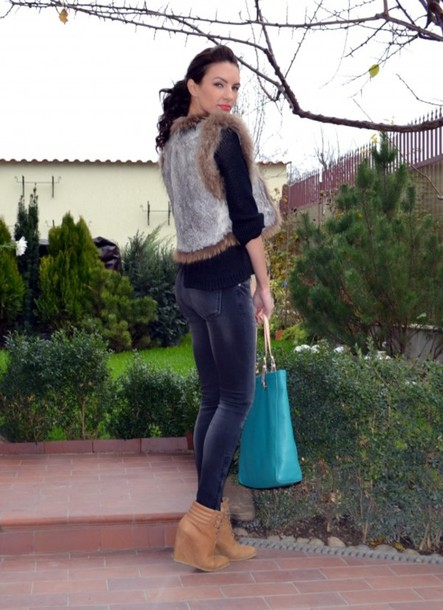 my silk fairytale sweater jacket jeans shoes bag jewels