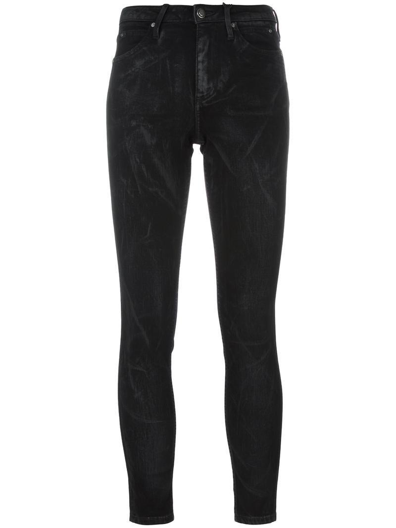 Calvin Klein Jeans skinny jeans, Women's, Size: 26, Black, Cotton/Polyester/Spandex/Elastane