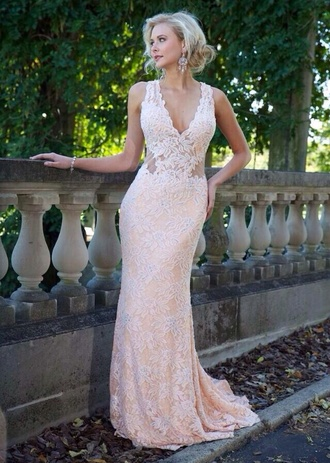 dress long prom dress prom dress prom lace dress lace sexy formal dress