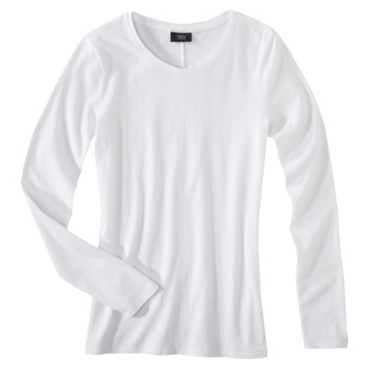 Mossimo® Women's Long Sleeve Lightweight Cre... : Target