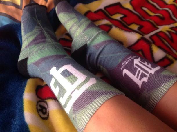 socks neff tgod