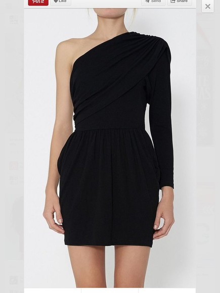 dress one shoulder formal