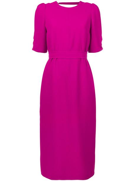 No21 dress back open open back women purple pink