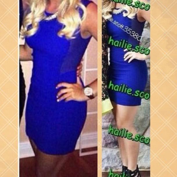 dress blue dress dress blue short dress pretty