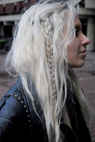 hair accessory hair rings blonde hair braid hairstyles