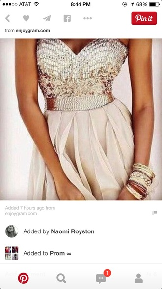 dress cream prom dress long prom dress prom dress