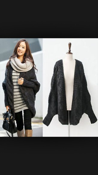 sweater oversized sweater cardigan