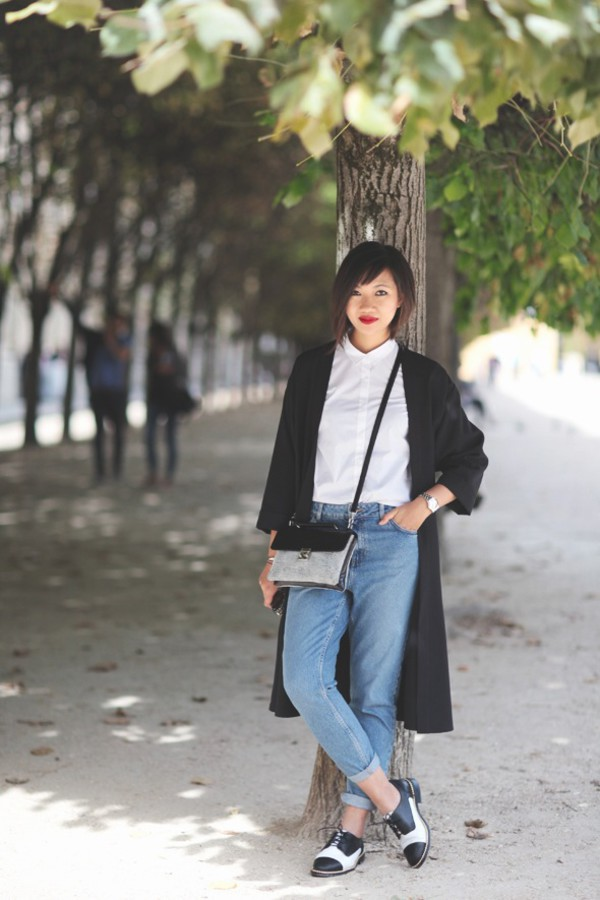 le monde de tokyobanhbao blogger bag jeans sunglasses make-up