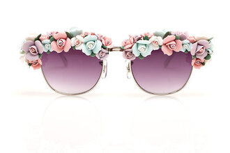 cute pastel floral sunnies summer accessories sunglasses our favorite accessories 2015