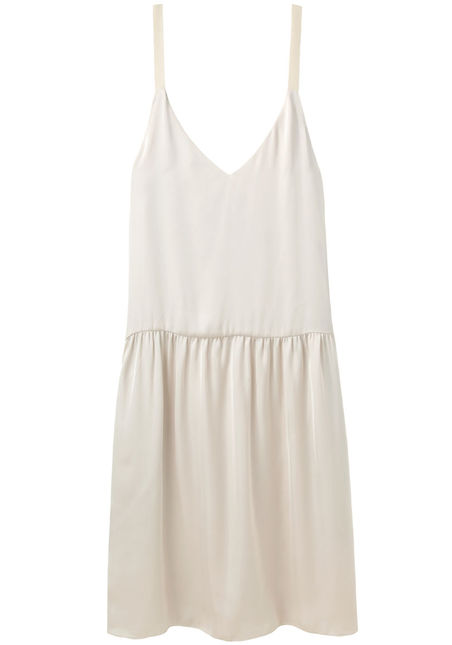Organic by John Patrick  Drop Yoke Dress  |   La Garçonne