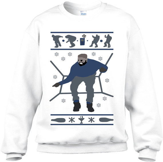 Hotline Bling White Sweater,Drake Christmas Sweatshirt,Ugly ...