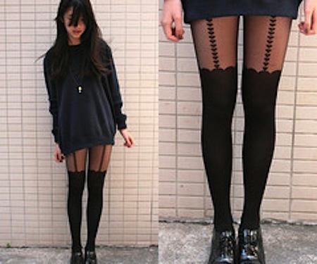 Love heart suspender tights · so hazy · so hazy online