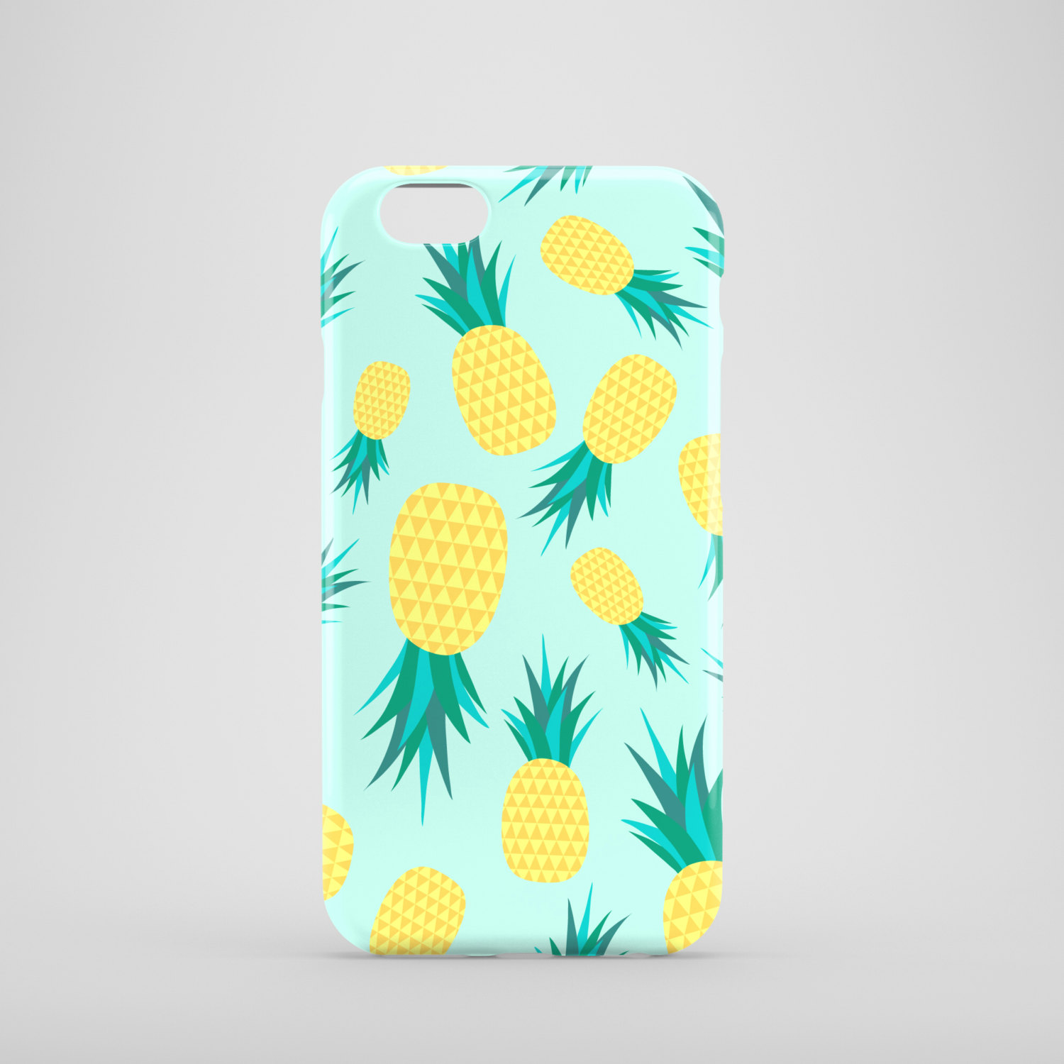 sale retailer 7dfd9 d693d Pineapples phone case / tropical phone case / fruity iPhone case / iPhone 6  / iPhone 5/5S / Samsung Galaxy S6 / FREE UK SHIPPING