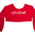 Red GoodLife Crop Top | Good Life Mob Wear