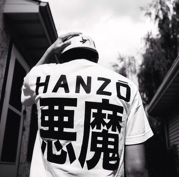 Shirt Cute Shirt Japanese Chinese Letters Streetwear