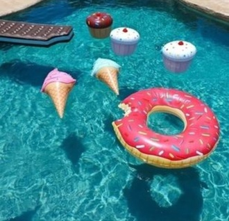 home accessory swimwear donut cupcake ice cream lifestyle pool accessory easter