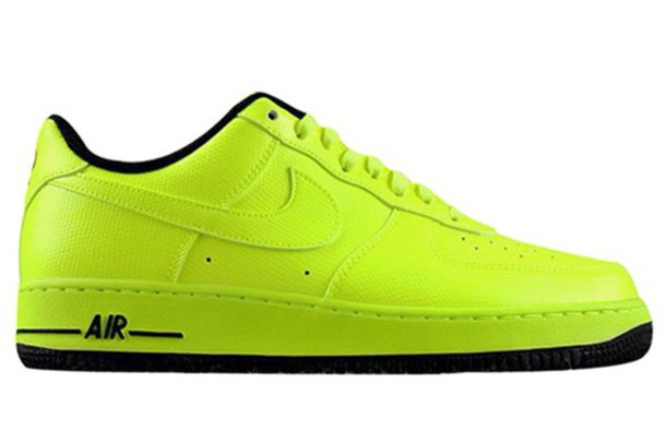 shoes yellow air force for men