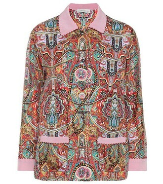 blouse printed blouse top