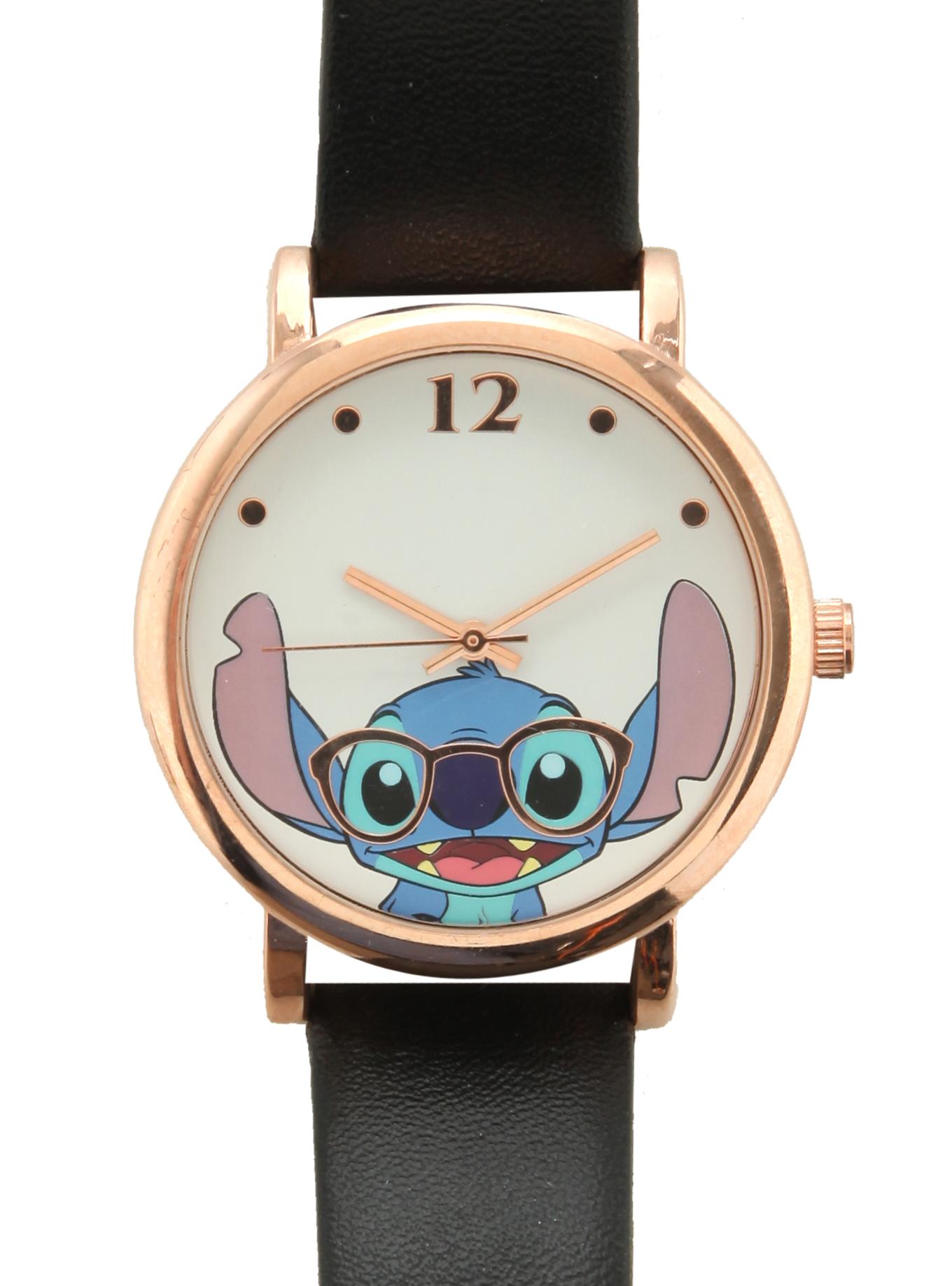 Disney lilo & stitch nerdy stitch watch