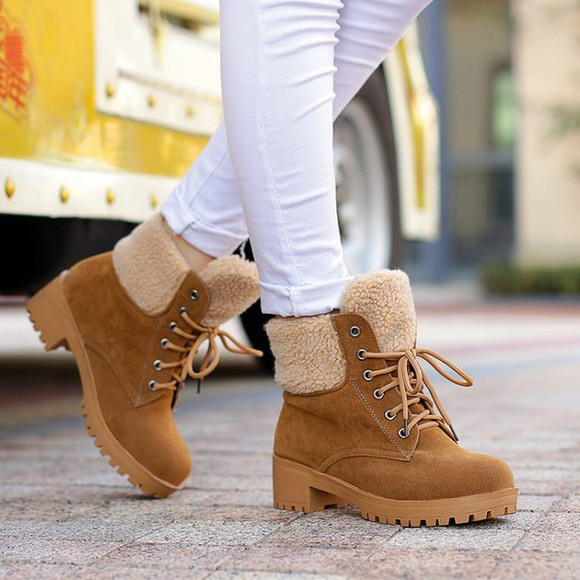 boots shoes ankle boots winter boots fall booties shoes winter wool
