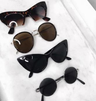 sunglasses sunnies round sunglasses round frame glasses accessories accessory