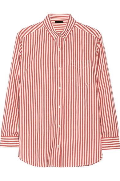 Eddie striped cotton shirt