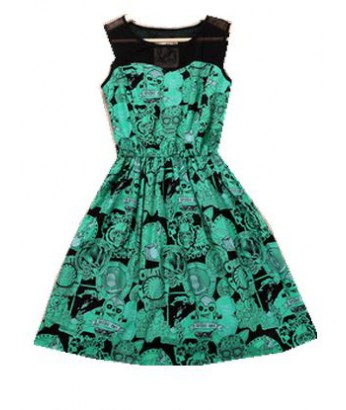 zombie print waist dress - Zombie Pictures To Print