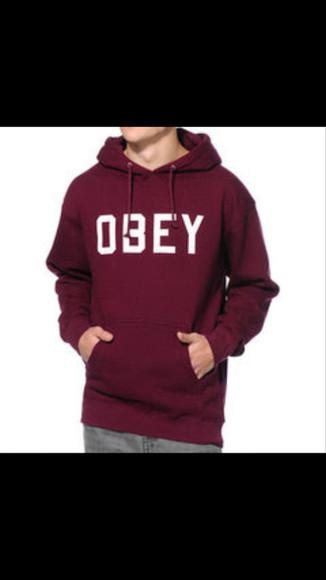 hoodie obey hoodie jacob whitesides