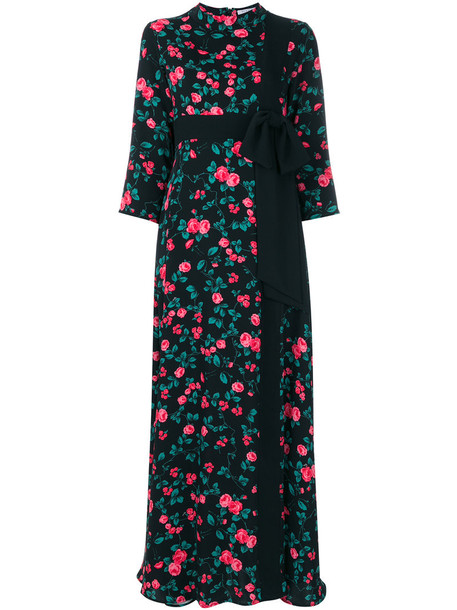 VIVETTA dress bow women floral black
