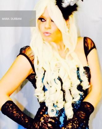 blouse durbani maria durbani celebrity illuminati blue show celebrity style celebrity halloween costume