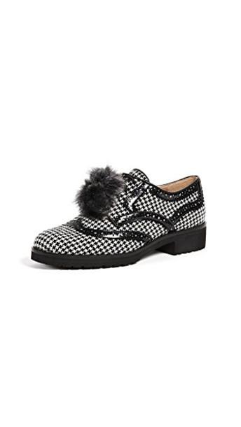 Sam Edelman oxfords white black shoes