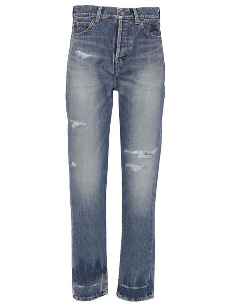 Saint Laurent jeans dark blue dark blue