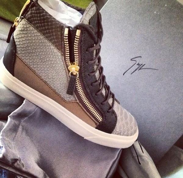 sneakers gz high top sneakers high cut sneakers snakeskin sneakers zip shoes