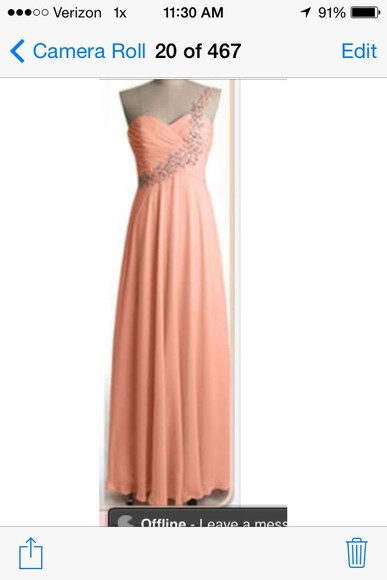 dress pretty coral dress long prom dresses long bridesmaid dresses coral