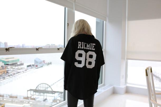 t-shirt sofia richie black dope wishlist