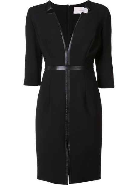 Carolina Herrera dress women black wool