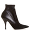 Kalli suede and leather high-heel ankle boots