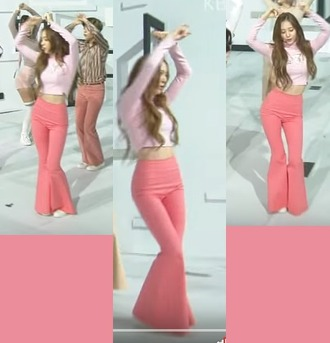 pants k-pop fx krystal fx pink