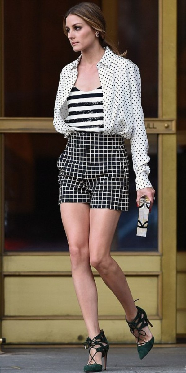 top olivia palermo shoes stripes Aquazzura pumps