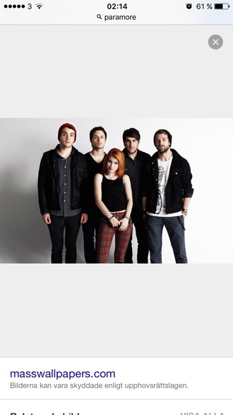 jeans red soft paramore red jeans stripes hipster goth grunge grunge jeans grunge trousers red paties band clothes bands clothing panties hayley williams