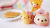 home accessory,lovely,cooking,cupcakes,food,angel food,kawaii,kawaii accessory,pink,hello kitty,cute,cupcake