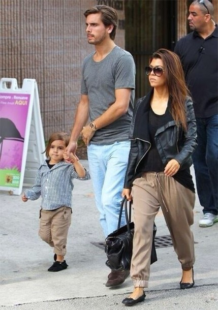 pants kourtney kardashian cute jacket